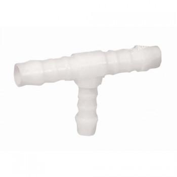 """spojka hadicová """"T"""" 12mm plastová, Normaplast TS12"""