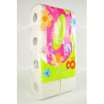 Wc toaletní papír LINTEO Satin 3V 8ks