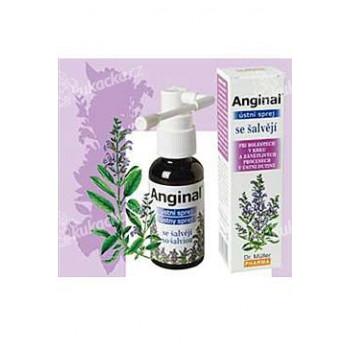 Dr.Muller Pharma Anginal ústní sprej se šalvějí 30ml