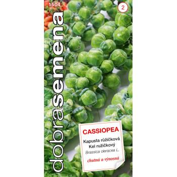 Dobrá semena Kapusta růžičková - Cassiopea 0,7g - VÝPRODEJ