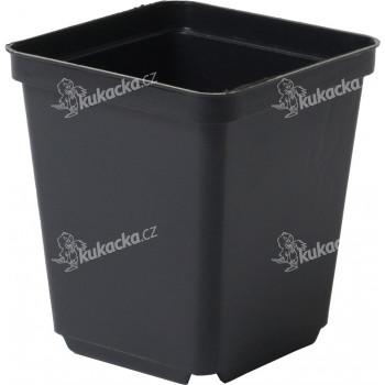 Květináč - kontejner, tvrdý plast 7x7x8 cm - 10 ks