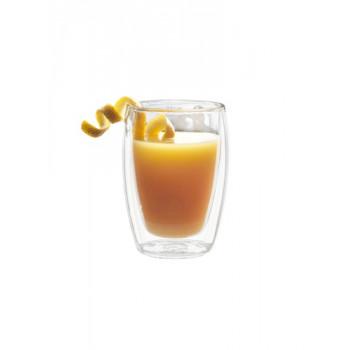 Dvoustěnná sklenice Juice, 27 cl (2ks), Bakly - VÝPRODEJ