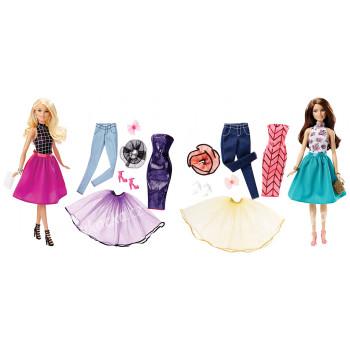 Barbie MODELKA A ŠATY - mix variant či barev - VÝPRODEJ