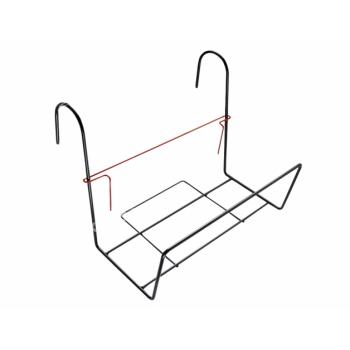 Držák truhlíku SIESTINO balkónový kovový 35x24cm