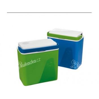 lednice KRIOS chladicí 23l 39x40x23cm, 2 víka (el.+ klasické) - mix barev - VÝPRODEJ