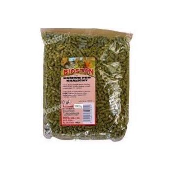 Biostan KG speciál krmivo zakrs. králík 1 kg - VÝPRODEJ
