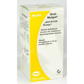 Oral-Mulgat sol 10x10 ml