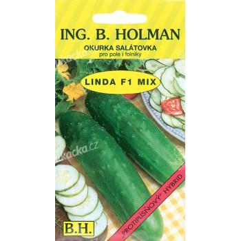 Okurka salátová Holman - Linda F1 1,5g