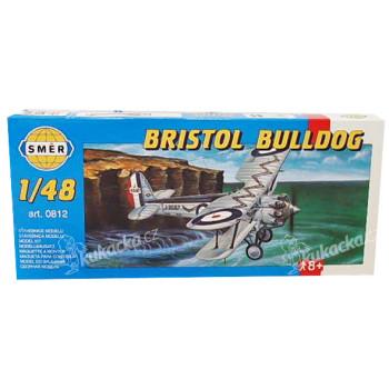 Model Bristol Bulldog 1:48 15,3x21,1cm