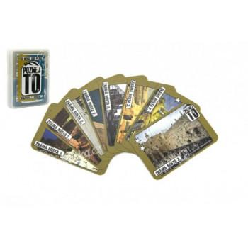 Poznej to, známá místa 2, sousloví 1, společenská hra karty v plastové krabičce