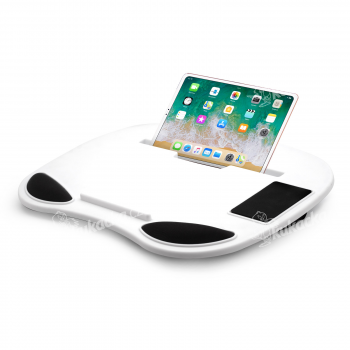 Podložka pod notebook, tablet a smartphone, Lapdesk Black and White, Cuculo