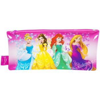 Penál plastový na zip Princezny