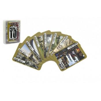 Poznej to, známá místa 1, přísloví 1, společenská hra karty v plastové krabičce