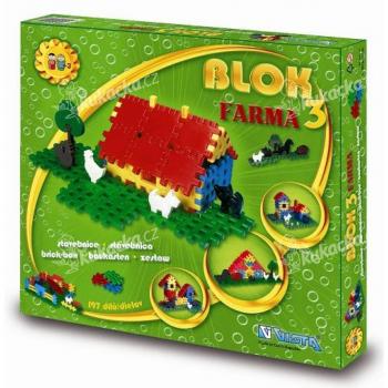 Stavebnice Blok 3 Farma plast