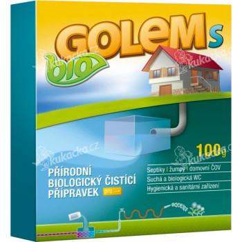 Aktivátor septiků BIO GOLEM S 100g