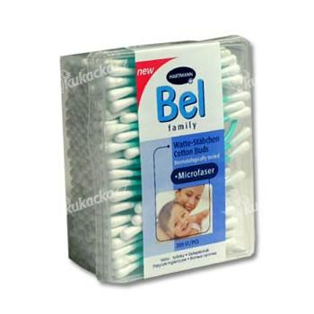 BEL Family tyčinky vatové krabička 200ks
