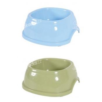 miska BREAK 3, 1,0l, 22x22x8cm, plastová, MO, ZE - mix barev