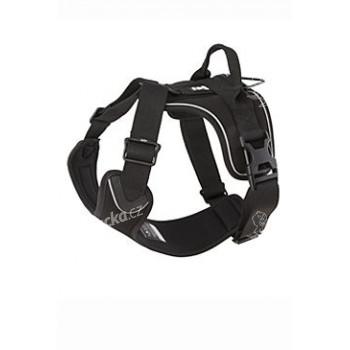 Postroj Hurtta Active černý 90-100cm