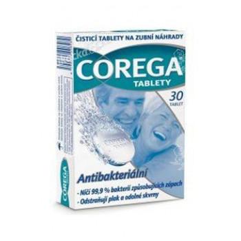 Corega Tabs šumivé tablety antibakter. 30tbl