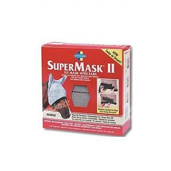 FARNAM Supermask II bez uší vel. HORSE šedo-kaštanová