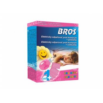 Odpařovač BROS pro děti proti komárům, polštářky 10ks