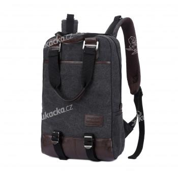 Studentský batoh, šedý