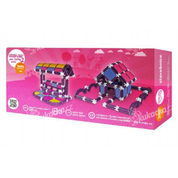 Stavebnice Seva pro holky 2 Mini plast
