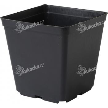 Květináč - kontejner, tvrdý plast 11x11x12 cm - 10 ks