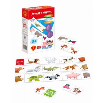 Hra školou® Průvod zvířátek kreativní a naučná hra