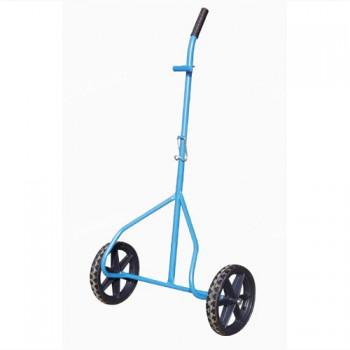 vozík MINOR, komaxit, 565x280x1130mm, nosnost 80kg