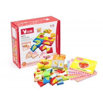 Stavebnice Wange – puzzle s ovocem