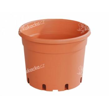 Květník CLASSIC MCC lehčený plastový terakota 37cm 20l - VÝPRODEJ