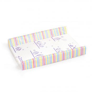 Přebalovací podložka 50x70, jednobarevná s potiskem, mix variant či barev, Cuculo