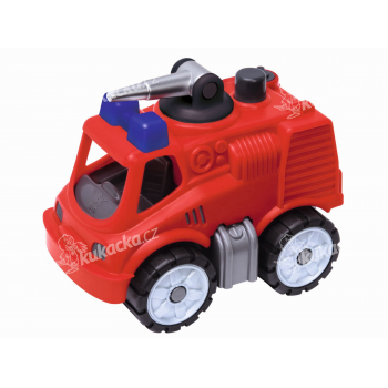 BIG Power Worker Mini Hasičské auto 15,5 cm - VÝPRODEJ
