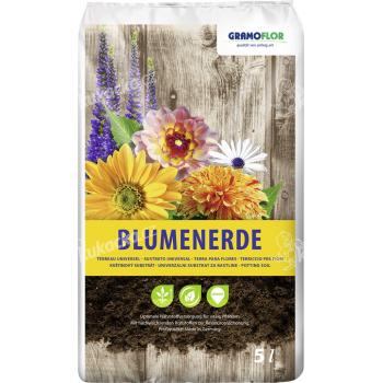 Substrát Gramoflor - Květinový s jílem 5 l