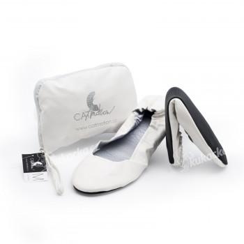 CatMotion skládací baleríny do kabelky Virgin