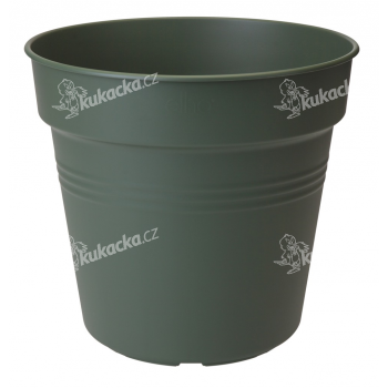 Elho květináč Green Basics - leaf green 35 cm - VÝPRODEJ