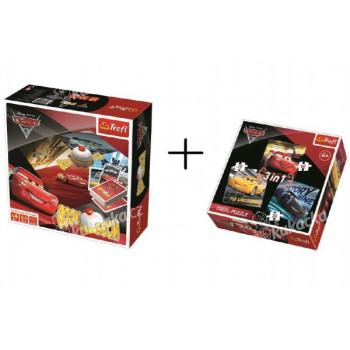 PACK Hra Boom Boom CARS 3 + puzzle 3v1 grátis