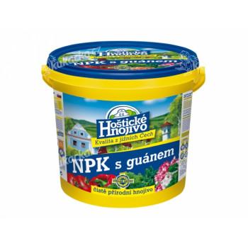 Hnojivo NPK HOŠTICKÉ s guánem 8kg