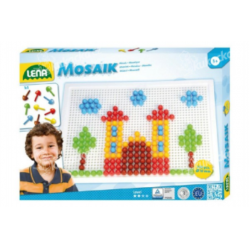 Mozaika velká, klobouček 10mm hladk