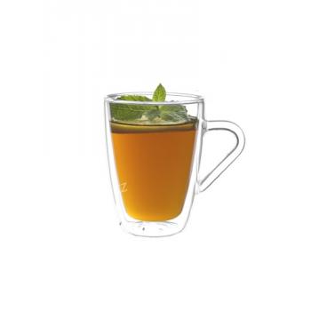 Dvoustěnná sklenice Tea, 32 cl (2ks), Bakly - VÝPRODEJ