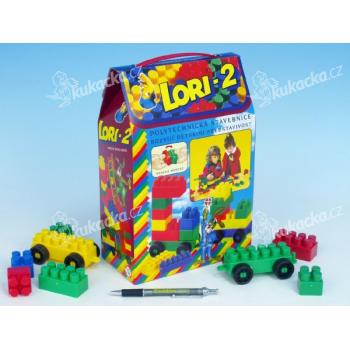 Stavebnice LORI 2 plast