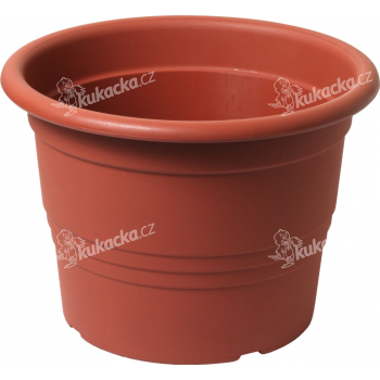 Květináč Cilindro / Premium - terakota 30 cm