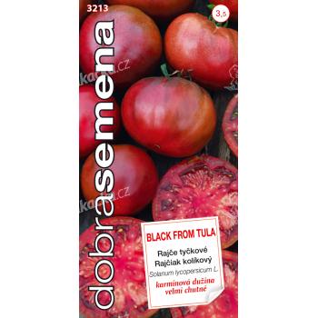 Dobrá semena Rajče tyčkové - Black From Tula 30s - VÝPRODEJ