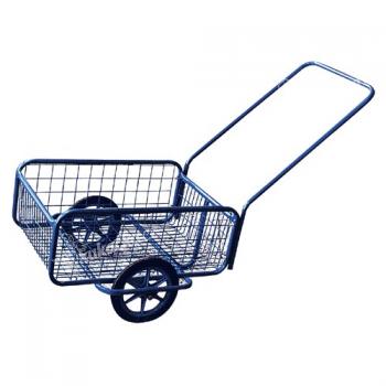 vozík POPULAR I, gumová obruč, komaxit, 418x618x232(1220) mm