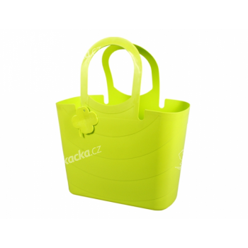 Taška LUCY plastová světle zelená 15l