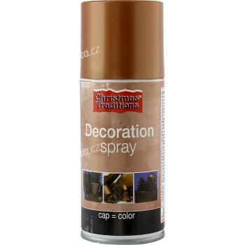 Dekorace - barva měděný bronz sprej 150 ml