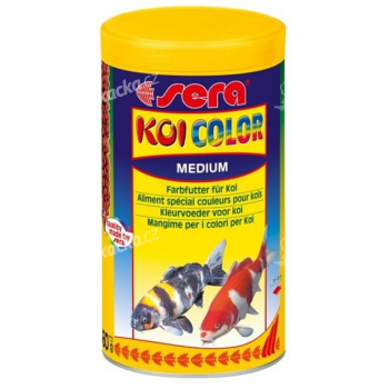 Sera Koi Color medium granule 1000 ml