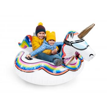 Nafukovací kluzák Jednorožec na sníh, CUCULO