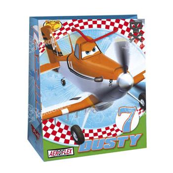 Dárková taška dětská L - Letadla - VÝPRODEJ